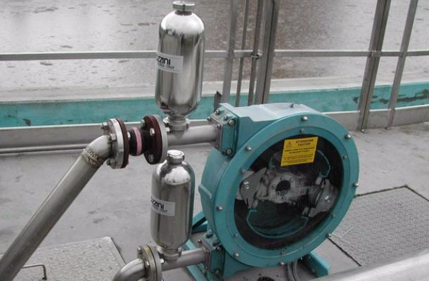 A large amount of pumps operate in the ceramic industry