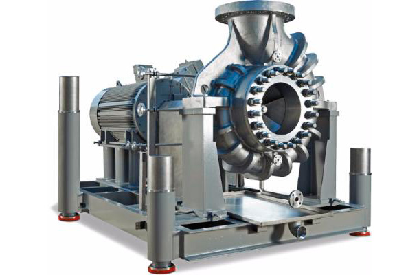 To work in high temperature and pressure conditions Egger produces a special series of pumps